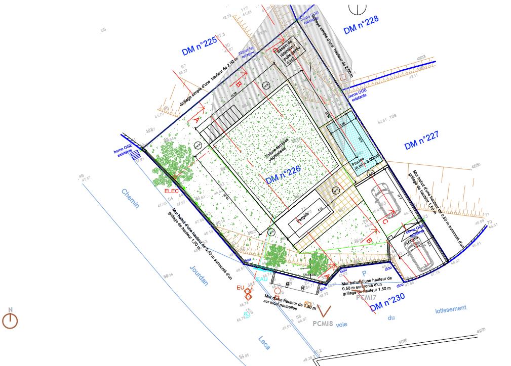 plan-masse-villa-michele-bernard