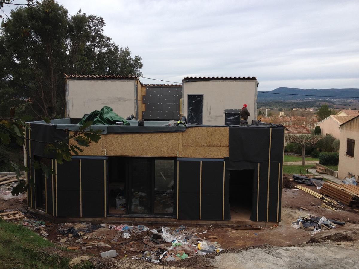 in extensa construction bois villa ang la bient t tanche l eau. Black Bedroom Furniture Sets. Home Design Ideas